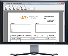 Filling in Forms - FormDocs Electronic Forms Software